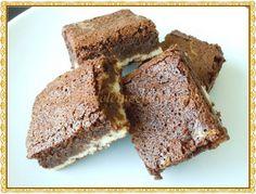 Brownies de moca y cheesecake by adytoto, via Flickr