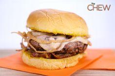 Michael Symon's French Onion Burger #thechew