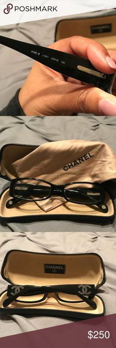 Chanel optical frames! Stylish Chanel optical frames in really good condition. Comes with protective case and bag as shown. Open to offers ! CHANEL Accessories Glasses
