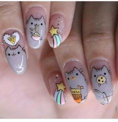 :)  instagram:Nailartexpress Check out her nailart