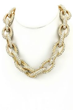 Bling Dog Chain Necklace - My Site