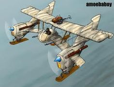 steampunk aircraft - Google Search