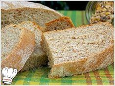 ΣΠΙΤΙΚΟ ΨΩΜΙ ΟΛΙΚΗΣ ΑΛΕΣΗΣ!!! - Νόστιμες συνταγές της Γωγώς! Pretzel Bun, Greek Cooking, Appetisers, How To Make Bread, Greek Recipes, No Bake Cake, Food Processor Recipes, Bakery, Muffin