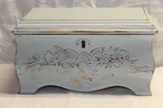 Please visit my shop on Etsy.  Hand painted jewelry box / by p. allen / by cgraceandcompany