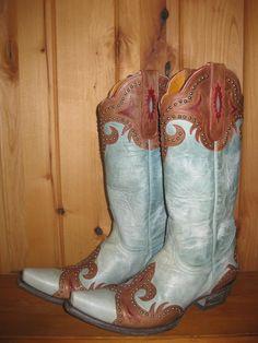 Old Gringo Taka Aqua Cowgirl Boots at RiverTrailMercantile.com!