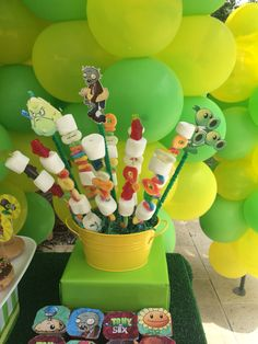 Plants vs zombies birthday party ideas