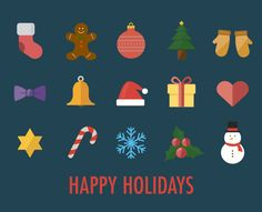 10 Best Christmas Icons and Greeting Cards