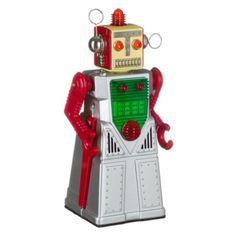 Robot meisje zilver