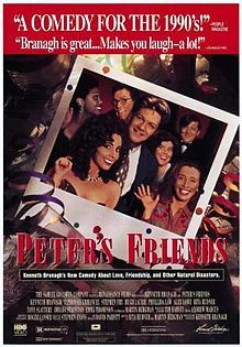 Peter's Friends- Starring: Kenneth Branagh and Stephen Fry (December 25, 1992)