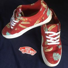 4fae9e07bca8be Aloha Floral Vans Chukka Low Vibrant and tropical vans low tops with the  original ultracush insoles. Ideal for wide feet (they didn t look right on  my ...