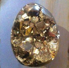 Pyrite egg #crystal