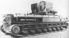 Morser Karl, massive German artillery gun.