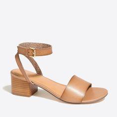 J.Crew - Block-heel sandals