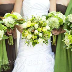 Green Wedding Bouquet @Andrea / FICTILIS / FICTILIS / FICTILIS Gossard
