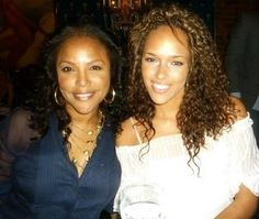 Actress Lynn Whitfield with daughter, Grace Gibson.