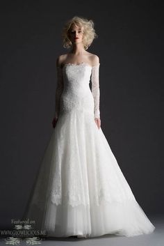 COLLECTION : Cymbeline 2014 Wedding Dresses Collection ~ Glowlicious