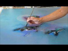 Acrylmalerei Technik