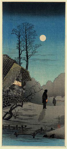 Shotei. Moonlight
