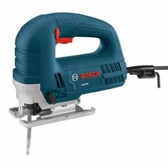 Bosch JS260 Top-Handle Jig Saw. For curves, straight lines, plunge cuts and cuts in tight spaces, you're sure to reach for the Bosch JS260 time and time again.