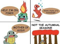 Pokemon starter fears #Fun #Gaming #Pokemon