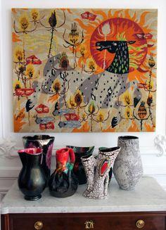 Decoration, Showroom, Curtains, Paris, Shower, Painting, Decor, Rain Shower Heads, Blinds