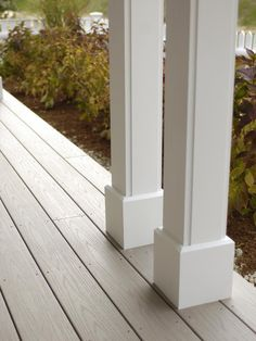 - Covered Porch Azek decking