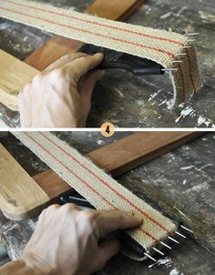 The Painted Hive   How To Upholster a Drop-In Seat From Scratch