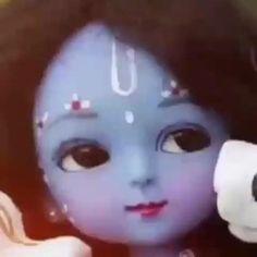 Krishna Gif, Radha Krishna Songs, Krishna Flute, Krishna Statue, Baby Krishna, Jai Shree Krishna, Cute Krishna, Radha Krishna Pictures, Lord Krishna Images