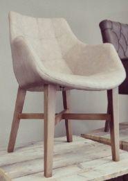 Blackwood Dutchbone Mid century wooden Design chair, retro - vintage ...