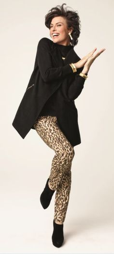 So Slimming™ Animal Getaway Pant. Beth Hans 18db2e1700b86