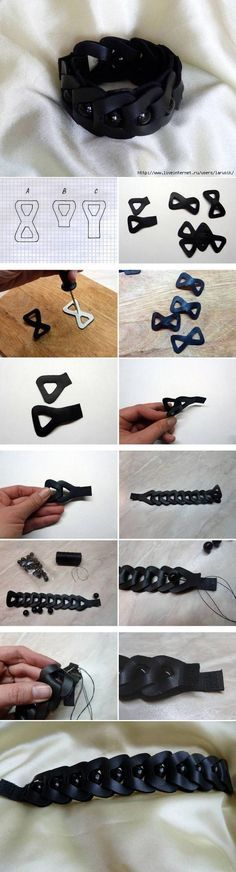 This bracelet is amazingly easy and very deceptive. One look at it and...