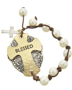 A personal favorite from my Etsy shop https://www.etsy.com/listing/223063703/blessed-bracelet