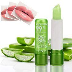 Moisturizing Aloe Vera Lipstick - Long Lasting Lip Balm
