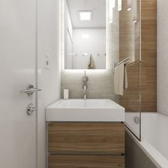 Bathroom Design Small, Small Apartments, Bathroom Inspiration, Decoration, My Room, Bathtub, Houses, Kitchen, Toilets