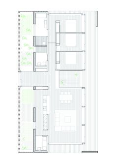 Image 1 of 6 from gallery of SIFERA House / Josep Camps & Olga Felip. Photograph by Pedro Pegenaute Architecture Design, Architecture Drawings, Residential Architecture, Architecture Diagrams, Architecture Portfolio, Modern House Plans, Small House Plans, House Floor Plans, The Plan