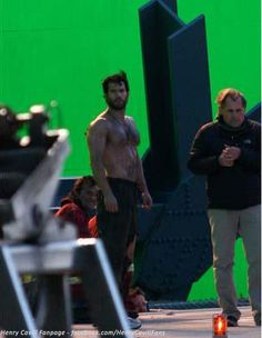 Henry Cavill as Superman-Man of Steel Movie 2013-Vancouver Set-26 by The Henry Cavill Verse, via Flickr