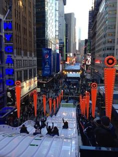 "Twitter / ""ryansmithtv: Top of the toboggan run at Super Bowl Boulevard. Will it be conquered? Coming up on [@]abcWNN""  - 30 Jan 2014"