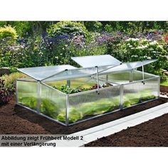 Beckmann FS2 Allgäu 2 – Invernadero Green Furniture, Bonsai, Exterior, Nature, Gardening, Greenhouses, Random Stuff, Camping, Ideas