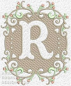 Free Embroidery Design: Letter B | Free Embroidery Designs ...