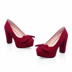 f419ef201371 Carol Shoes Women s Fashion High Heel Bows Court Shoes (3.5