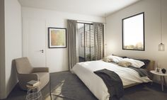 BOTANIQUE caulfield north - bedroom