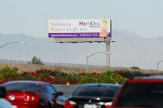 Billboard for MomDoc Midwives on the Santan Freeway Loop 202.  Welcoming Ramona Joseph, CNM  MomDoc Midwives www.MomDocMidwives.com Drs. Goodman & Partridge, OB/GYN Beautiful Beginnings Partnering with you for a healthy pregnancy and a healthy baby.  (Learn a Little-Known, But 100% Scientifically-Proven Way To ERASE Your Diabetes in 3 SHORT weeks)