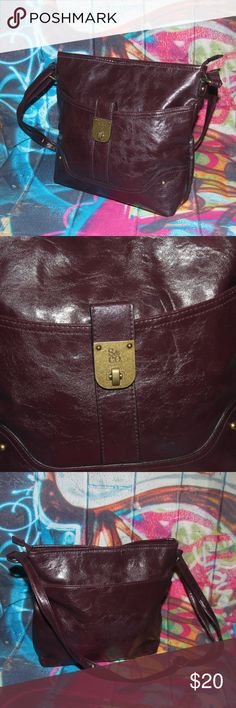 a4fd0aecc #shopmycloset #poshmark #fashion #shopping #style #forsale #Fossil #Handbags.  See more. S & Co. Brown Faux leather purse S & Co. Brown Faux