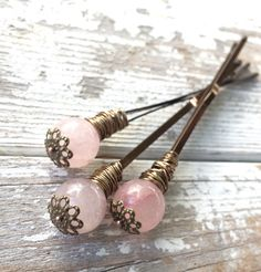 Decorative hair pin wedding hair clip women hair by crushedcameo