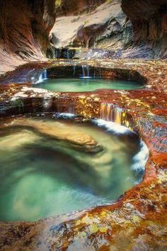 épinglé par ❃❀CM❁✿⊱Subway Pools - Zion National Park - Vincent James I've been to Zion, didn't see this! An excuse to go back. Oh The Places You'll Go, Places To Travel, Places To Visit, Beautiful World, Beautiful Places, Amazing Places On Earth, Beautiful Sites, Parque Natural, All Nature