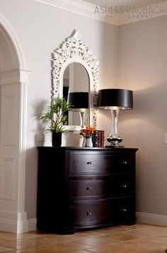love the chest. This would be beautiful in an entry way