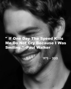 """""""When you put good will out there, it's amazing what can be accomplished.' Paul Walker, Reach Out Worldwide Founder  RIP"""