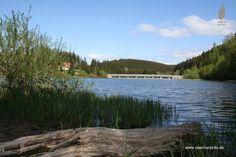 Die Talsperren im Harz. Die Trogfurther Brücke in Königshütte.