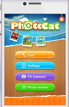 www.photocat.com is photo editing made fun.  PhotoCat is a fun all-in-one photo editor allowing users to easily edit their photos, enhance portraits, create collages and share their work. They have a website and an iTunes app.