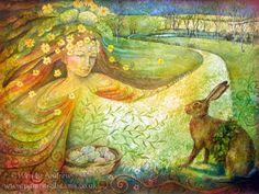 Ostara by Wendy Andrew